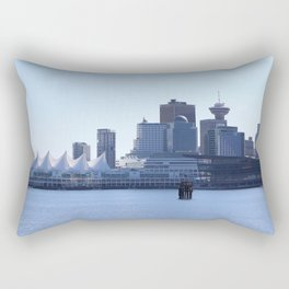 Downtown Vancouver Canada Rectangular Pillow