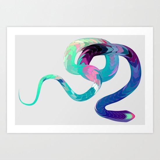 Serpentine 04. Art Print