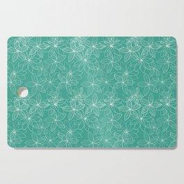 Floral Freeze Mint Cutting Board