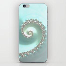 Fractal Ocean Wave iPhone Skin