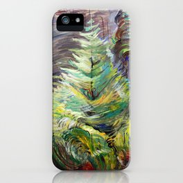 Emily Carr - Heart of the Forest - Canada, Canadian Oil Painting - Group of Seven  iPhone Case
