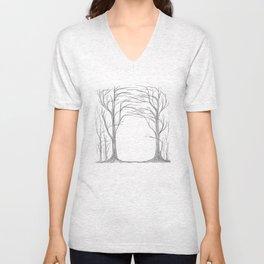 The hidden forest Unisex V-Neck