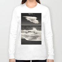 spain Long Sleeve T-shirts featuring Mijas, Spain by Carlos Sanchez