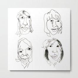 ABBA Metal Print