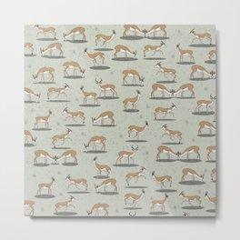 Springbok pattern Metal Print