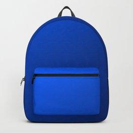 Black And Blue Gradient Pattern Design Backpack