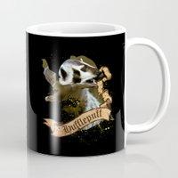hufflepuff Mugs featuring Hufflepuff by Markusian