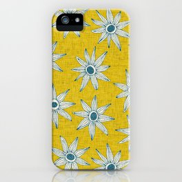sema yellow blue iPhone Case