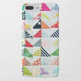 Flying Geese Quilt Pattern iPhone Case