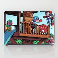 avenger iPad Cases featuring The Avenger Tykes by J Skipper