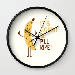 All Ripe Wall Clock
