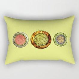 Food Mix Tris Rectangular Pillow