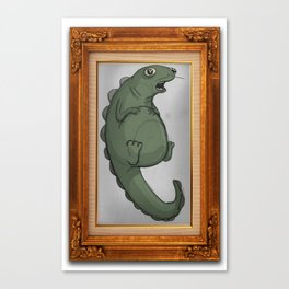 Fat Dinosaur Canvas Print