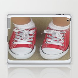beauty in the mundane - my favorite pair of shoes Laptop & iPad Skin