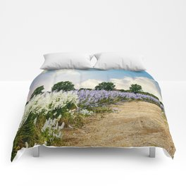Coloured Landscape Comforters