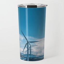 The Wind Farm (Color) Travel Mug