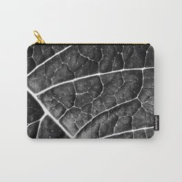 LEAF STRUCTURE no2a BLACK AND WHITE Carry-All Pouch