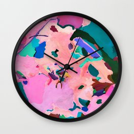 Liquid Lands Wall Clock