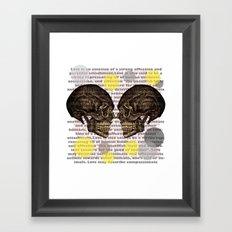 illness Framed Art Print