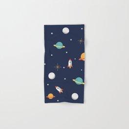 Space Pattern Hand & Bath Towel