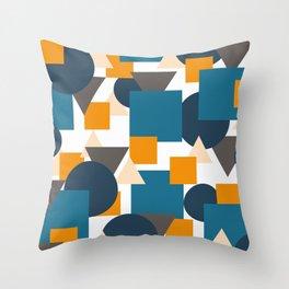 Geometric Mixture Throw Pillow