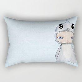 A Boy - Shark Rectangular Pillow