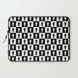 Billie Checkered (Black and White) Laptop Sleeve
