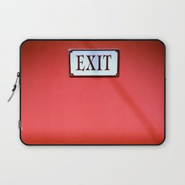 The Next Exit Laptop Sleeve