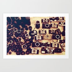 I love analogue photography Art Print