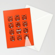 Eyes Of The Tiger Stationery Cards