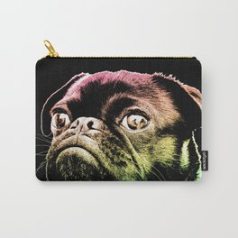 Pride Peace and Pugs Carry-All Pouch