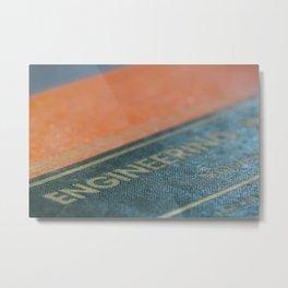 Tome of Engineering Metal Print