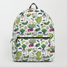 Superfood Pattern Backpack