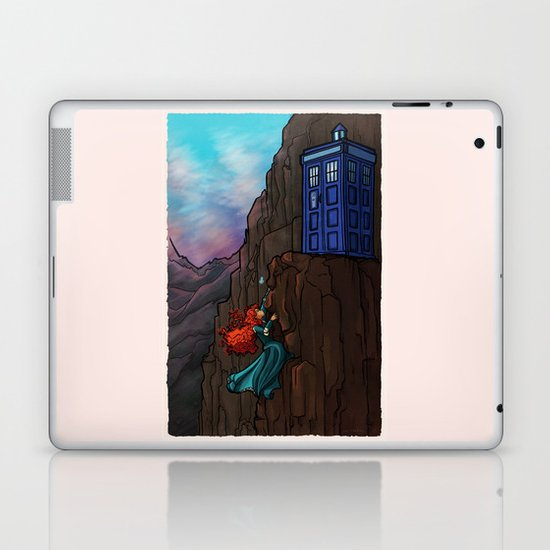 Touch the sky...and then the stars. Laptop & iPad Skin