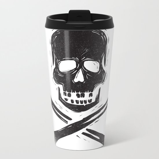 you are a dead thing Metal Travel Mug