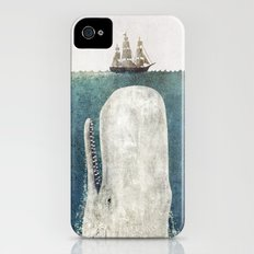 The Whale - vintage  iPhone (4, 4s) Slim Case
