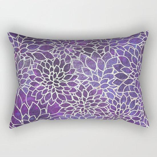 Floral Abstract 13 Rectangular Pillow