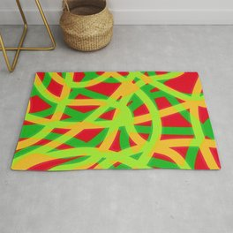 lively lines Rug