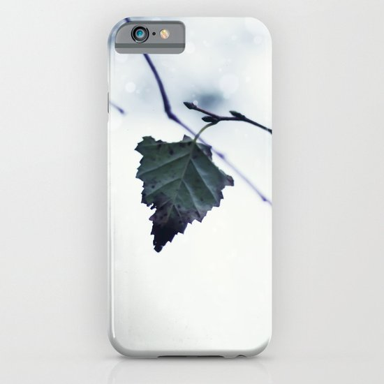The last leaf iPhone & iPod Case