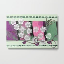 Love card Metal Print