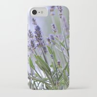 lavender iPhone & iPod Cases featuring lavender by Artemio Studio