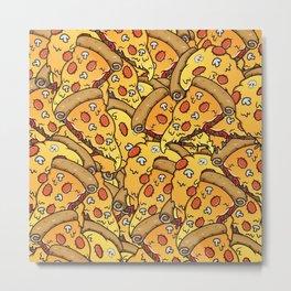 Pizzaparty Metal Print