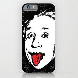 Silly Wisdom - Albert Einstein iPhone Case