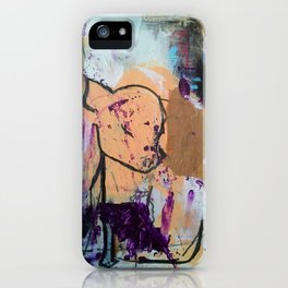 Save Me - Vegan series - Original painting - Marina Taliera iPhone Case