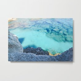 Cyprus Sea I Metal Print
