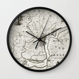 Philadelphia - Pennsylvania - United States - 1777 Wall Clock