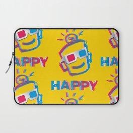 3D HAPPY Laptop Sleeve