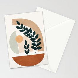 Soft Shapes III Stationery Cards