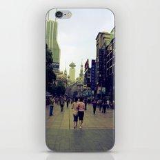 Walking Shanghai iPhone & iPod Skin