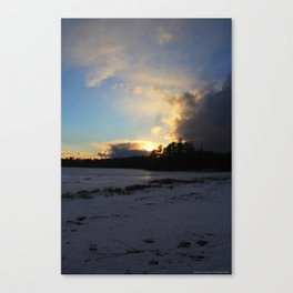 Dimming Canvas Print